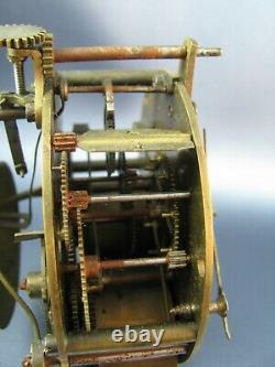 Vintage Antique Seth Thomas And Sons Clock Movement