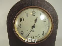 Vintage Antique Seth Thomas Mantle Clock For Parts Or Repair