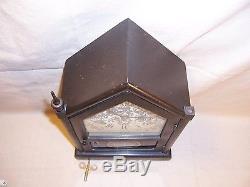 Vintage / Antique Seth Thomas Steeple Bracket Shelf Mantel Clock