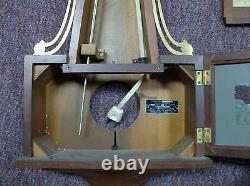 Vintage Large Seth Thomas Banjo Electric Wall Clock Model No# E505-000