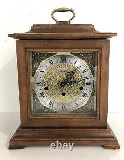 Vintage Mantle Clock Seth Thomas Model 1309 TESTED + WORKS Made in USA