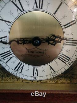 Vintage Rare Seth Thomas Exeter-w E538-001 Mantle Clock Chime