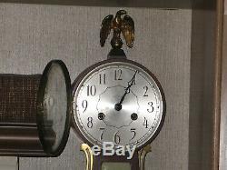 Vintage Seth Thomas Brookfield 5-W Banjo 8 day with Chimes Wall Clock