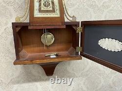 Vintage Seth Thomas Brookfield Banjo Wall Clock