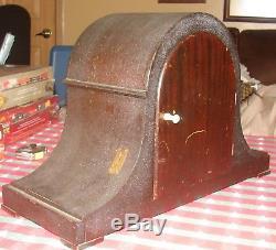 Vintage Seth Thomas Chime Clock No 57 Sonora Movement Mantle Table Shelf Clock