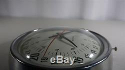 Vintage Seth Thomas Electric Wall Clock 24 Hour Model
