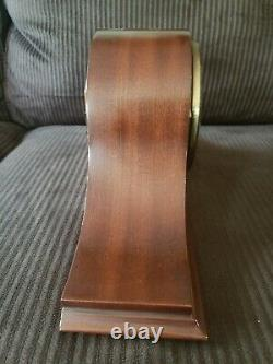 Vintage Seth Thomas Mahogany 8 Day Westminster Chime Mantle Clock Working