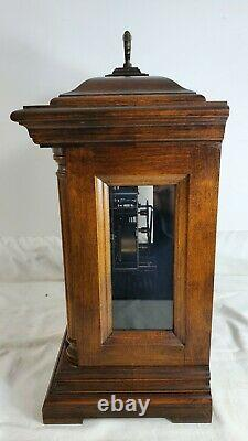 Vintage Seth Thomas Mantel Bracket Clock Triple Chime Royal Seth Large 18 Size