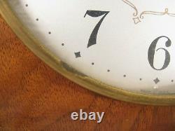 Vintage Seth Thomas Medbury 8 Day Mantle Clock B 1700 Series