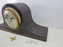 Vintage Seth Thomas No. 89 8 Day Mantle Clock for Parts