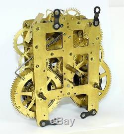 Vintage Seth Thomas No. 89 Clock Movement Parts Or Repair Kc652