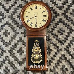 Vintage Seth Thomas Regulator No 1 Large Wall Clock Untested