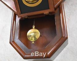Vintage Seth Thomas Regulator School House Wall Clock Works 8 Day