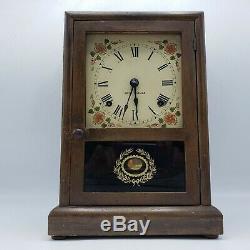 Vintage Seth Thomas Salem 8 Day Shelf Mantle Clock