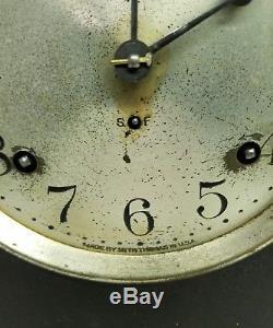 Vintage Seth Thomas Sonora 4 Chime Wood Clock