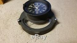 Vintage Seth Thomas US Navy WWII Course Clock Mark 2 Model 1 #21359