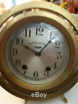 Vintage Seth Thomas ship clock pat cct 25 1921