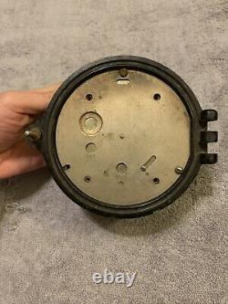 Vintage US Navy WWII Mark I Boat Clock Bakelite Case 12252. 1941 By Seth Thomas