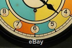 Vintage Very Rare Seth Thomas Usaaf Wwii Sector Clock Nice & Original W. E. Case