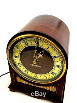 Vtg SETH THOMAS Electric Mantel Clock NORTHBURY Westminster Chime 1930's