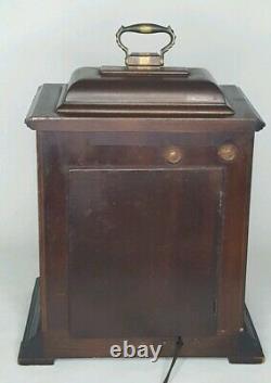 Vtg SETH THOMAS Mantel Clock Westminster Chime Electric LEGACY 6419 Parts Repair