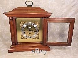 Vtg Seth Thomas Bracket Clock 3 Chime Options Model 1325 Seth Royal Runs Strikes