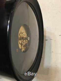 WWII Era US Navy Seth Thomas Mark-I Deck Clock Case & Movement Super Clean #2