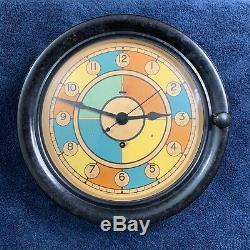 WWII USAAF RAF Sector Clock Seth Thomas USA Bakelite Military Radio Room, 1940