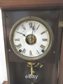 Walnut Mantel Seth Thomas City Clock Princeton