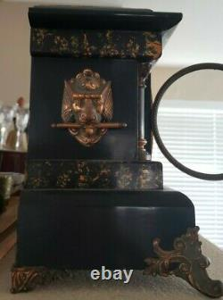 Working Antique Seth Thomas Adamantine Mantle Clock, circa early 1900s