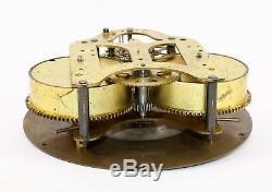 Wwii Era Seth Thomas 8 Day Time Only Ship's Bulkhead Clock Wp327